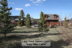 Lazy Bear Cabin with Title