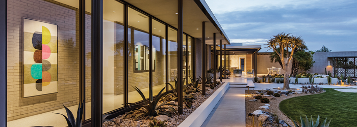 Pivot Doors: A Fresh Patio Trend That Brings the Outdoors In