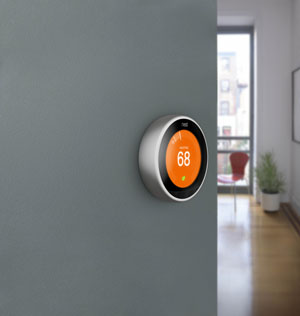 rosie on the house nest thermostat