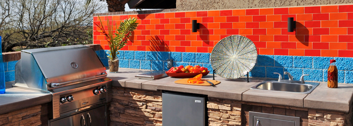 Tailgating on Your Patio