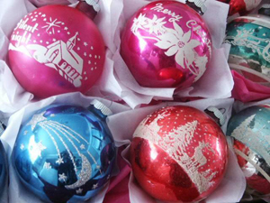 wrap ornaments